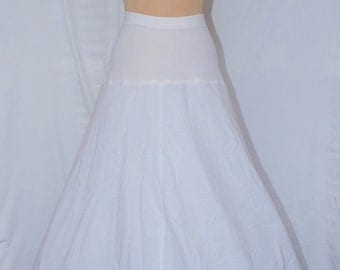 Hooped Crinoline Petticoat - by Kaye West