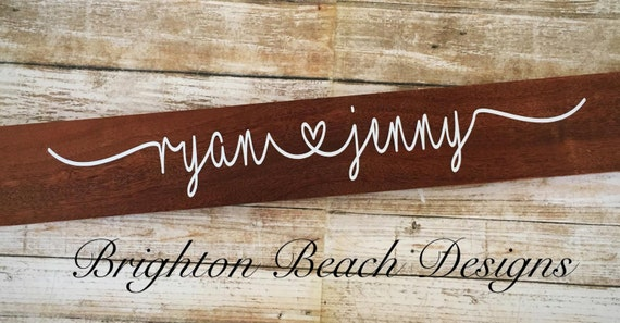 Custom Name Sign/Personalized Name Sign/Valentines Gift/Wedding Gift/Engagement Gift/Bridal Shower Gift/Housewarming Gift/Anniversary Gift