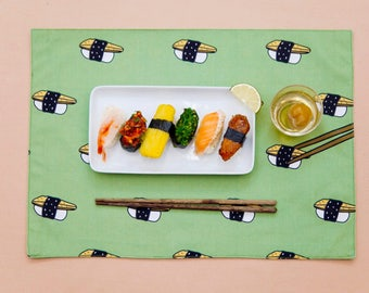 Eel Sushi Placemat