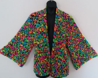 Graffiti Granny Stitch Shrug/Crochet Cardigan