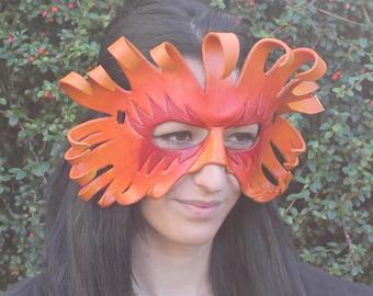 Handmade Leather Sun Mask