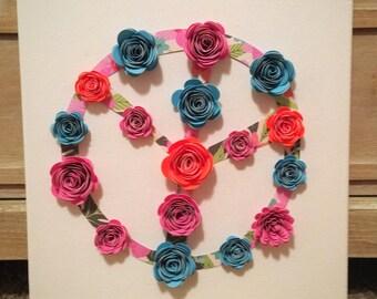 Peace & Flowers