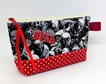 Mini Walking Dead Cosmetic Make-Up Case