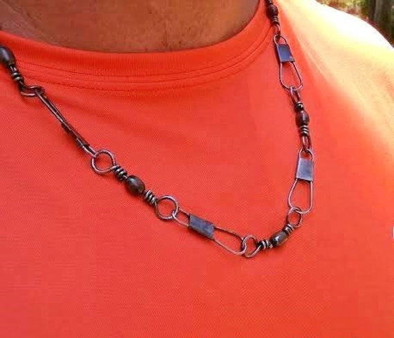 Fishing Necklace - Snap Back Neck Chain and Wrist Chain