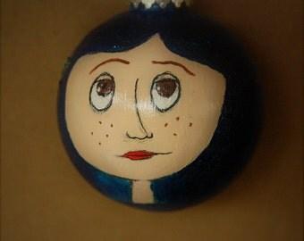 Coraline movie Coraline Jones with blue starry sweater