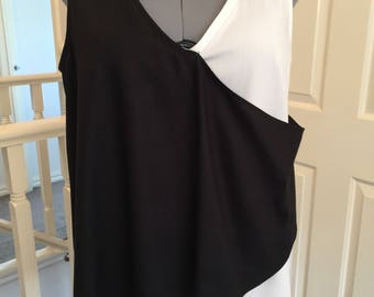Casual top, easy wearing, comfortable and figure flattering