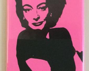 "Joan Crawford ""WWJD?"" Magnet"