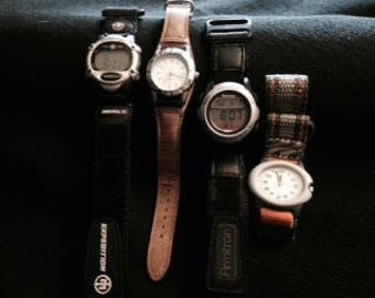 Watch Lot: Timex (*2) / Armitron / Coleman Watches