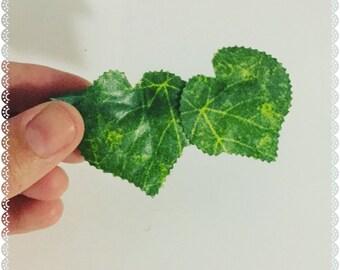 Ivy Leaf Barrette Clip