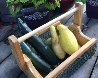 Large Harvester Garden Basket