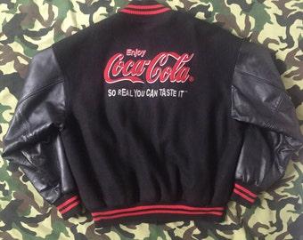 Rare ROOTS x COCA COLA Varsity Jacket