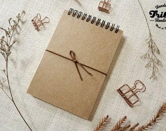 A6 Spiral Notebook | Spiral Notebook | Notebook | Journal | Writing journal | Sketchbook | LINED PAPER