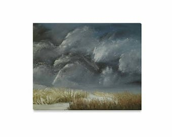 """Canvas Art Print 20""""x16"""" +3 other sizes -Thunder's Throne- FREE Shipping"""