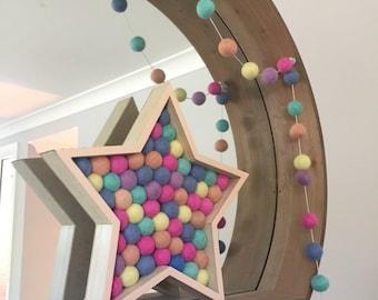 Star / Nursery Decoration / Baby / Childrens Decor