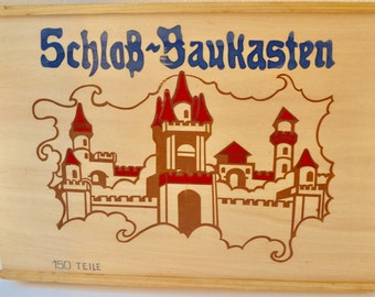 Amazing Wooden Bricks Castle