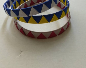 Woven headbands, School headbands, custom headbands, interchangeable headbands