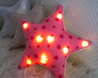 night light Star Pink