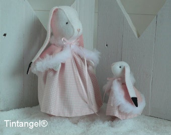 Mother & Daugther Snowshoe Hare - PDF pattern - Download