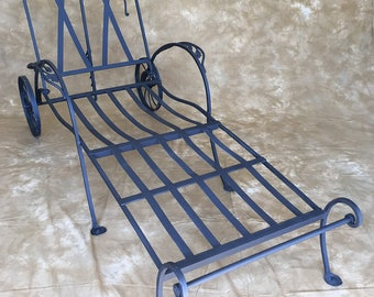 Vintage Salterini chaise #1      *****NO FREE SHIPPING****