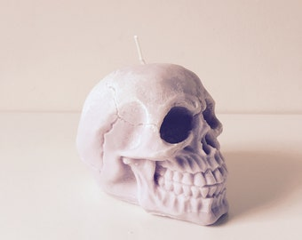 skull candle / skull home decor / small skull candle / home decor candle / skull home decor candle / skull candles /skull