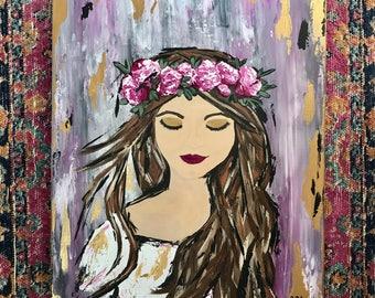 Boho Princess Painting