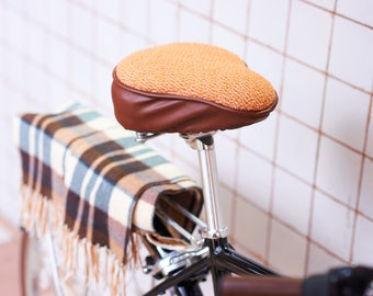 Soft seat cover, bike seat cover, bike seat cushion, padded bike seat, cycle seat cover, bike saddle cover, bike gifts, seat cover, bicycle