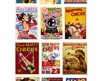 scale model car Circus posters