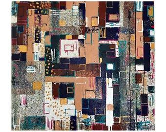SOHO Abstract by Daniel Hooper