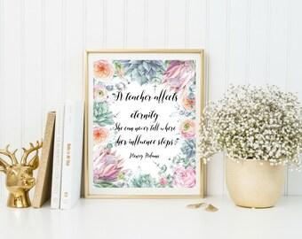 Digital Download Teacher Christmas Gifts, Gift for Teacher, Teacher Gifts, Teacher Thank You, Classroom Sign, Classroom Decoration Printable
