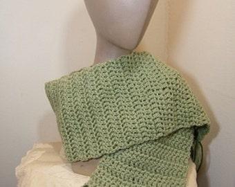 Ladies knit scarf/knit