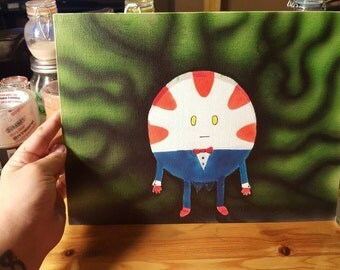 Peppermint Butler Painting