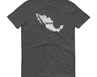 Mexico, Mexican Clothing, Mexican Shirt, Mexican T Shirt, Mexican TShirt, Mexico Map, Mexican Gifts, Made in Mexico, Shirt, Mexico Love