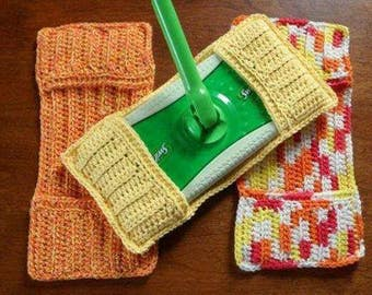 Crocheted Swiffer Pads