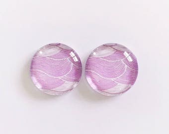 The 'Aster' Glass Earring Studs
