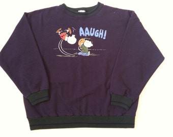 Vintage Peanuts crew neck sweatshirt