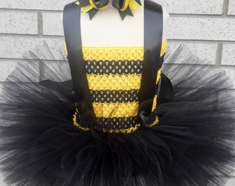 Bumble Bee Tutu Dress, Bee Tutu Dress, Bumble Bee Costume, Bee Tutu Dress, Bee Dress, Tutu, Bee Tutu