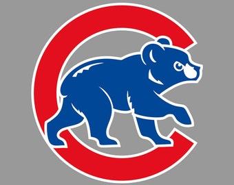 30% OFF Chicago Cubs Logo SVG Eps Dxf Jpeg Format Vector Digital Download Cutting File ...