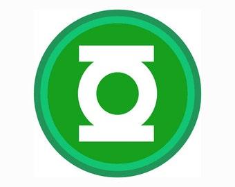 30% OFF Green Lantern Logo SVG Eps Dxf JPG Format Vector Digital Download Cutting File ...