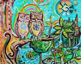 LOVE OWLS / Buhos de Amor