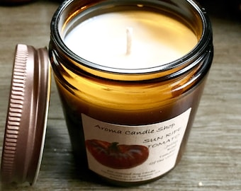 8oz SUN RIPE TOMATO handmade scented soy Aroma candle