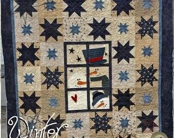 Winter Window Quilt Pattern