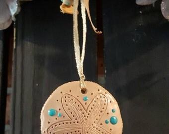Sand dollar Ornament *Handmade*