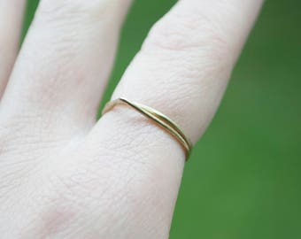 Small ring of brass, silver or copper