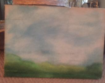 Landscape Study in Green
