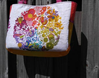 Bright summer tote