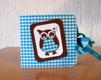 Paper tea bag cute OWL