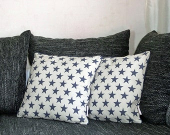 "Cushion covers 40 x 40 cm ""Star"" in the 2-Pack"