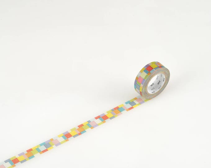 MT Washi tape - mosaic bright
