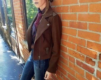 Millard Fillmore Brown Wool Jacket