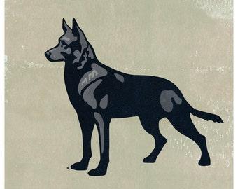German Shepherd Print, German Shepherd Poster, German Shepherd Art, Shepherd, German Shepherd, German Shepherd Art Print, Dog Art Print